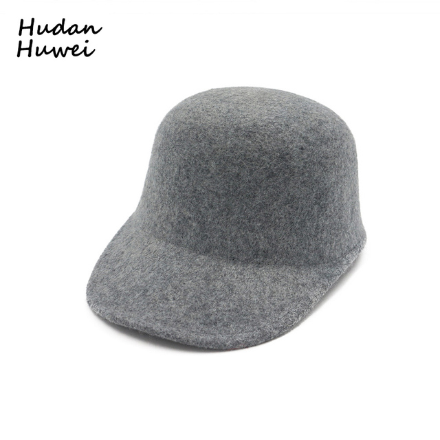 186de0ef8f7 100% Wool Felt Horsemanship Hat for Women Leisure Flat Brim Fedoras Trilby  Hat Lady Equestrian Cap Riding Dome Cap GH-319