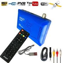 L'europe Dolby AC3 Numérique Récepteur Satellite DVB-S2 HD 1080 P Set Top Box USB Wifi (pas Soutien IPTV) Cccam Gscam Puissance Vu Youtube