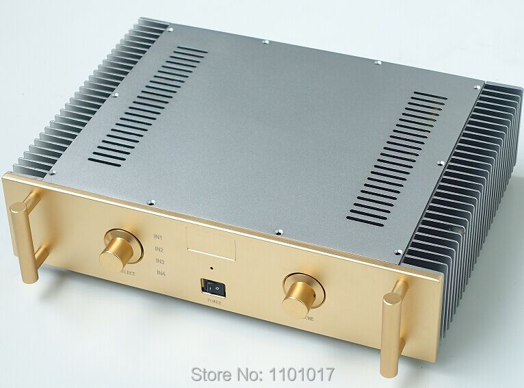 Weiliang Breeze Audio A2 150wx2 high power amplifer HIFI EXQUIS specially design Class A/B  WBAA2G