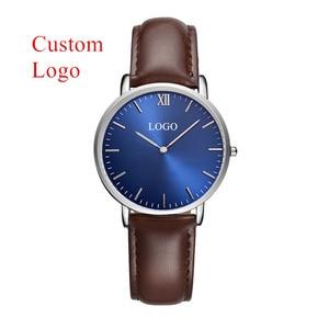 Image 1 - CL036 OEM 여자 시계 사용자 정의 로고 시계 디자인 사용자 지정 브랜드 회사 이름 시계 숙 녀