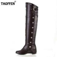 2012 NEW  fashion flat knee casual dress sexy women P1314 Hot sell size 34-47 boots
