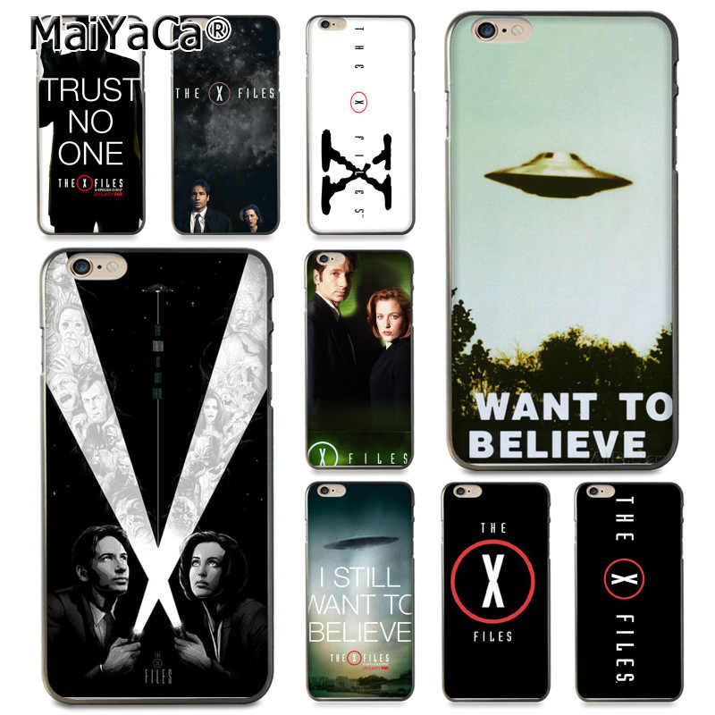 MaiYaCa X Files ฉันต้องการที่จะเชื่อข้อเสนอพิเศษสำหรับ iphone 11 Pro XR XS สูงสุด 8 7 6 6S Plus X 5 5S SE