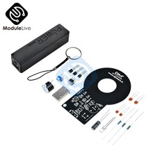 DIY kits Metal Detector with 18650 USB Powerbank Box Case Metal Tester Sensor Board with 18650 Battery Charger Module DC 3V-5V(China)