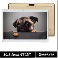 Original 10.1 'Tablets Android Octa Núcleo 32 GB 64 GB ROM Dupla câmera Dual SIM Tablet PC 1920X1200 WIFI OTG GPS bluetooth telefone