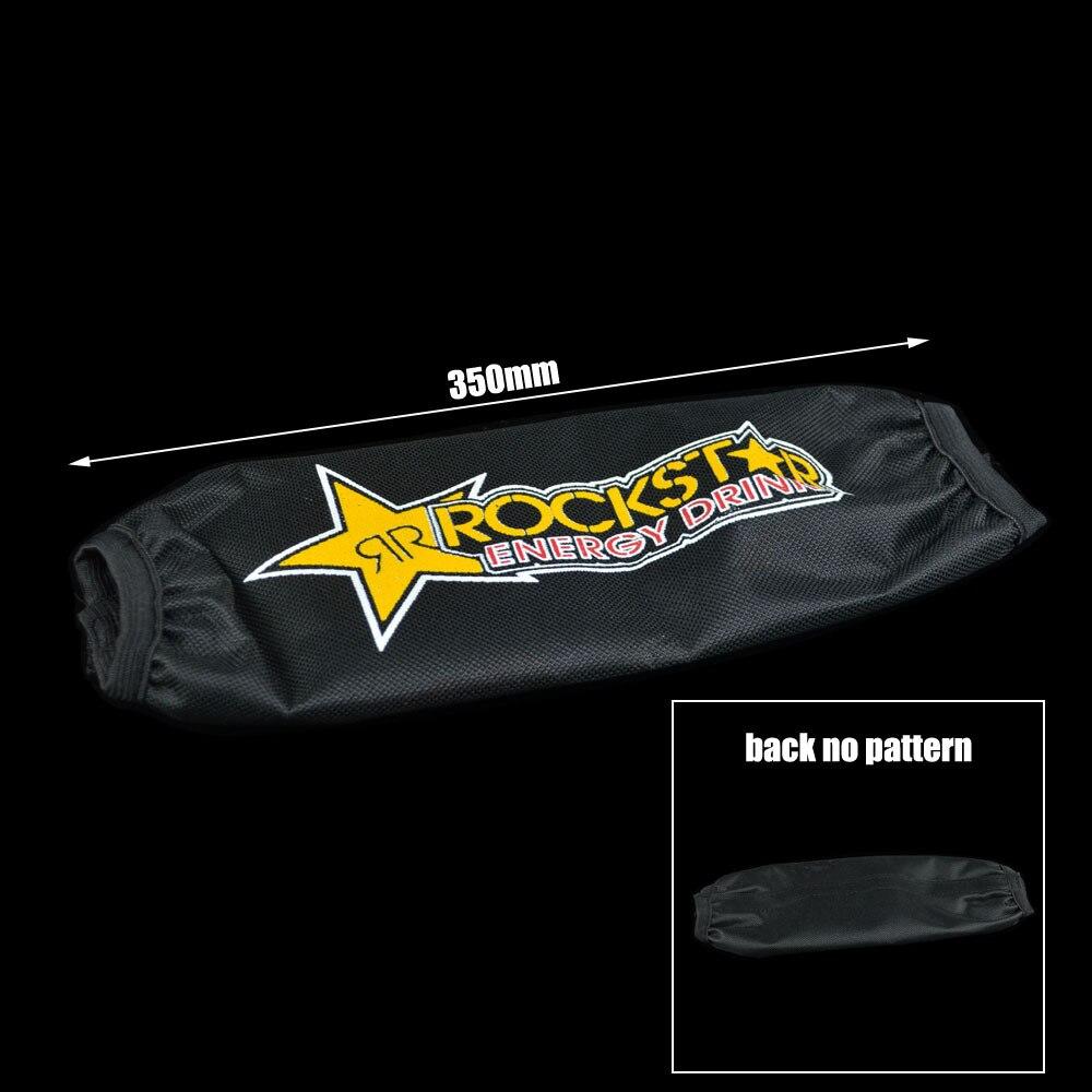 35 cm Arrière amortisseur suspension Protecteur protection couverture pour CRF YZF KTM RMZ KLX Dirt Bike moto ATV Quad Motocross