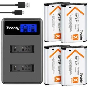 Battery BX1 FDR-X3000R AS300V SONY HX400 RX100 Npbx1 for HX60 WX350 M7 M6