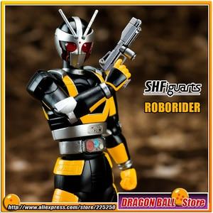 "Image 1 - Japan Kamen ""Masked Rider Black RX"" Original BANDAI Tamashii Nations SHF/ S.H.Figuarts Toy Action Figure   ROBORIDER"