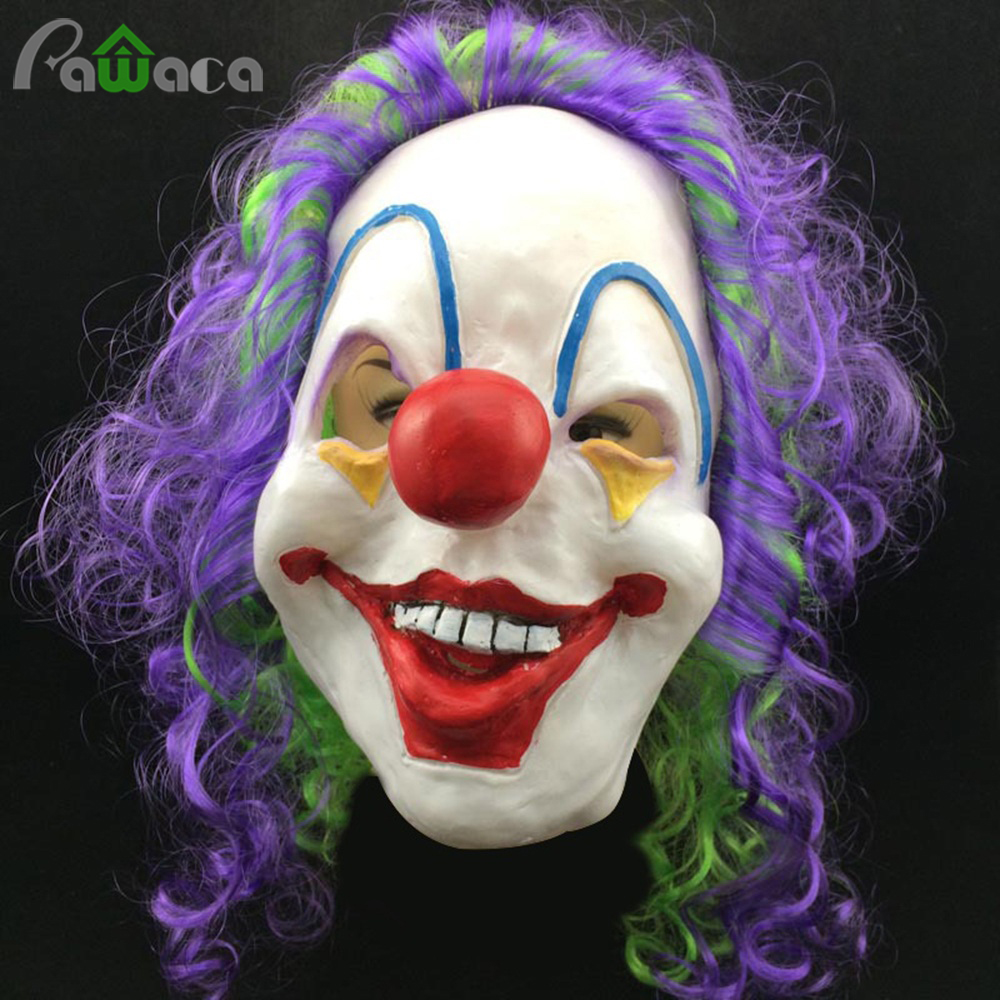 Popular Scary Clown Mask-Buy Cheap Scary Clown Mask lots from ...
