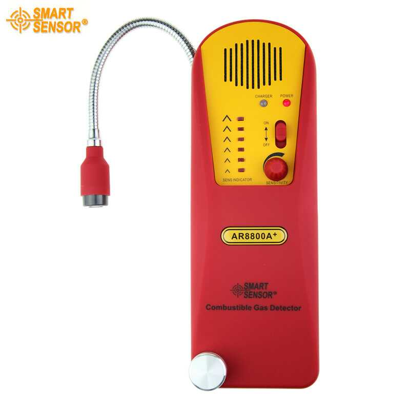 Smart Sensor AR8800A+ Combustible Gas Detector alarm gas leak detector gas analyzer high sensitivity combustible gas leak detector natural gas with sound and light alarms multifunction gas analyzer