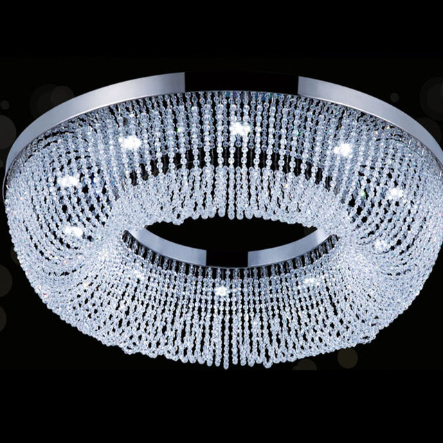 Round Chandelier Light: LED Lustre Crystal Chandelier Luxury Round Chandelier Light Modern Lighting  For Shop/Hotel /Home,Lighting