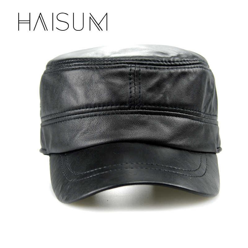2018大人ユニセックス帽子gorras haisum本革人気キャップ/帽子男性の真新しいロシア春fashionalのキャップcs09