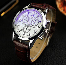 Watch Men New Fashion Top Brand Date Luxury Retro Design Business High Quality Leather Reloj Hombre Erkek Kol Saati(China)