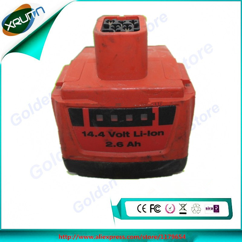 Bater/ía para Hilti Modelo B 144//2.6