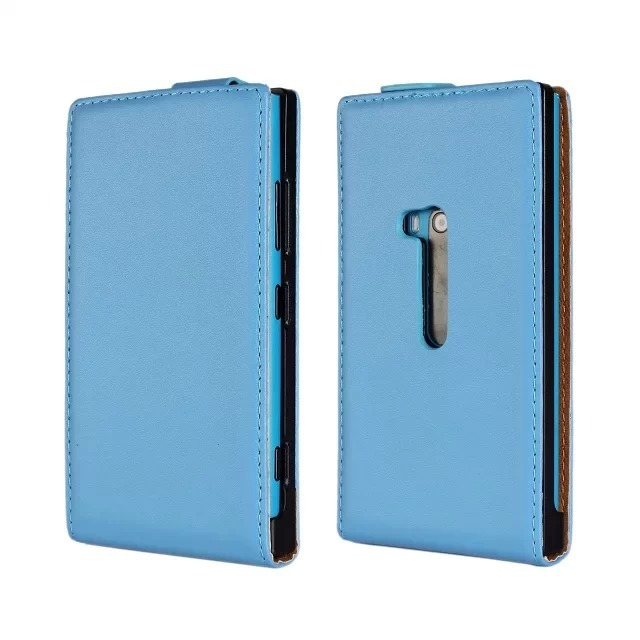 Luxury Genuine Real Leather Case Flip Cover Mobile Phone Accessories Bag Retro Vertical For Nokia Lumia 920 N920 PS