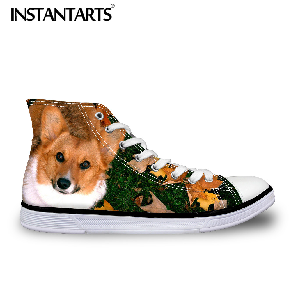 INSTANTARTS 3D Fashion Singer Print Male Flats Shoes Autumn Lace Up Comfortable High Top Canvas Shoes Classic Boy SneakersINSTANTARTS 3D Fashion Singer Print Male Flats Shoes Autumn Lace Up Comfortable High Top Canvas Shoes Classic Boy Sneakers
