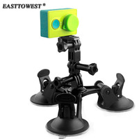 Fat Gecko Stealth Mount Low Angle 5 7cm Feet Suction Cup For Gopro Hero 4 3