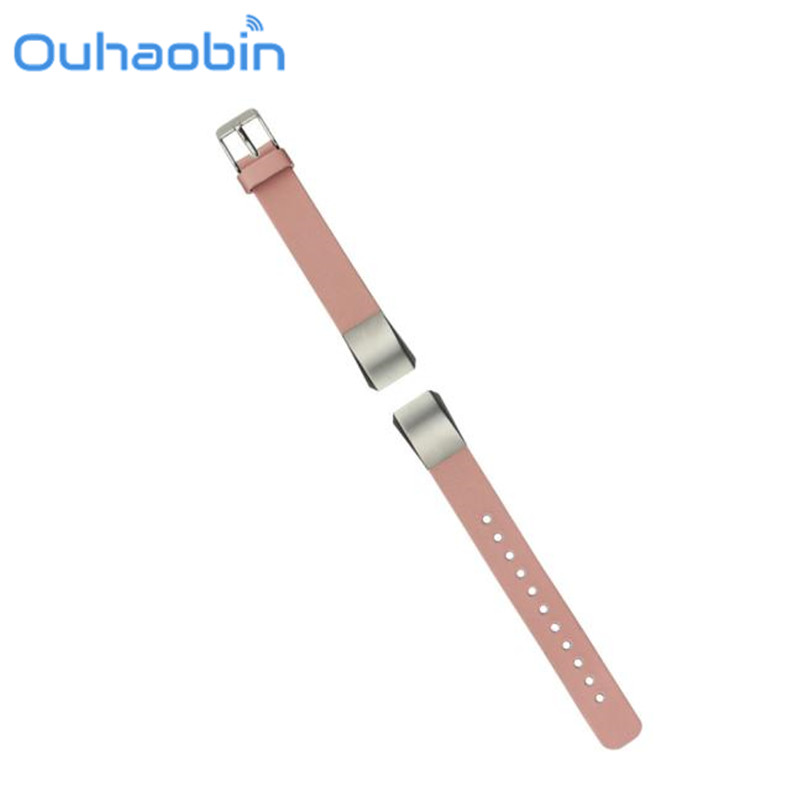 Ouhaobin Replacement Luxury Genuine Leather Band Strap Bracelet For Fitbit Alta Tracker Gift Sep 26 Dropshipping/Wholesale