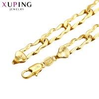 Xuping 11.11 Oferty Moda Szlachetny Naszyjnik Nowy Projekt Dziękczynienia Prezent S69-43620 Rope Chain Biżuteria dla Mężczyzn
