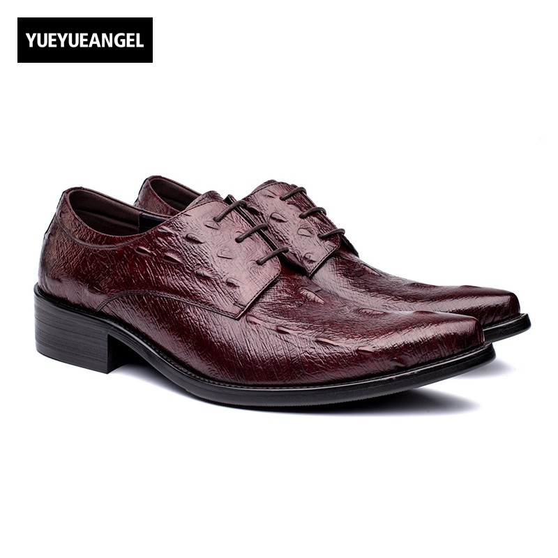 Autumn New Arrival Men Comfortable Genuine Leather Shoes For Men Pointed Toe Drres Shoes Wedding Lace Up Red Black Free Shipping пена монтажная макрофлекс 2х2 750мл