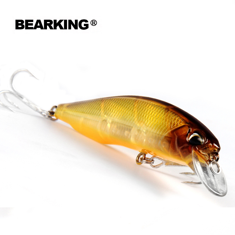 Retail 2016 good fishing lures minnow, quality professional baits 10cm/14.5g, bear king
