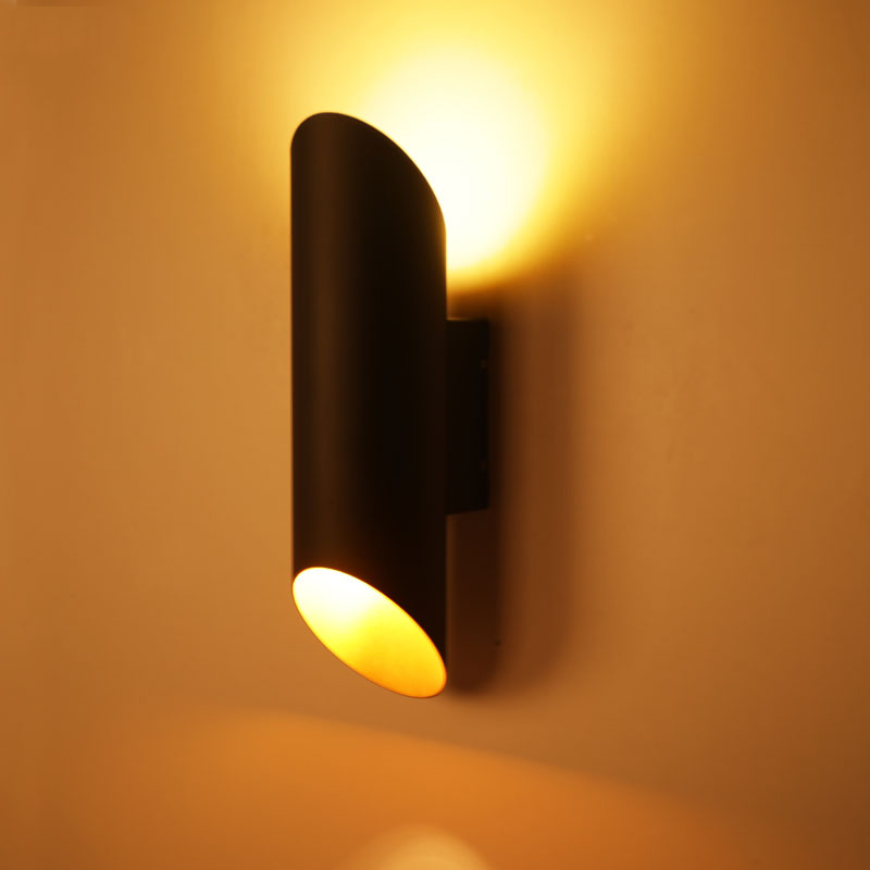 Wall sconce aluminum wall lamp Bedside minimalist design light pipe aisle wall lighting lounge nordic modern LED wall lights bra modern minimalist waterproof antifog aluminum acryl long led mirror light for bathroom cabinet aisle wall lamp 35 48 61cm 1134