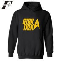 Star Trek Sudaderas 2017 Otoño Invierno hombres sudadera y hooidies hombres HOODY tracksuit hombre moletom hombres marca ropa Star Trek