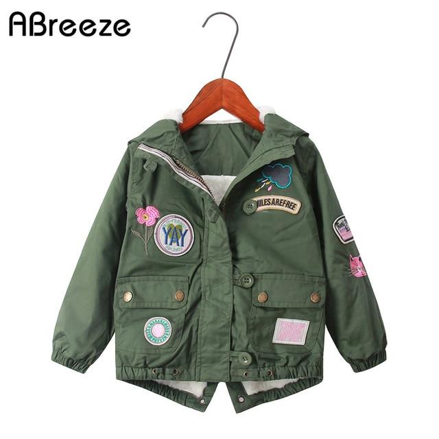 a016d63ee Abreeze 2019 winter children outerwear   coats European style kids ...
