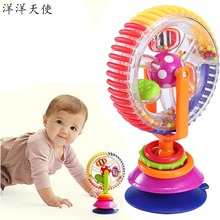 Красочная музыкальная звуковая мельница, детские игрушки 0-12 месяцев, колесо обозрения, вертушка, детские игрушки для младенцев, игра, развивающие игрушки для детей