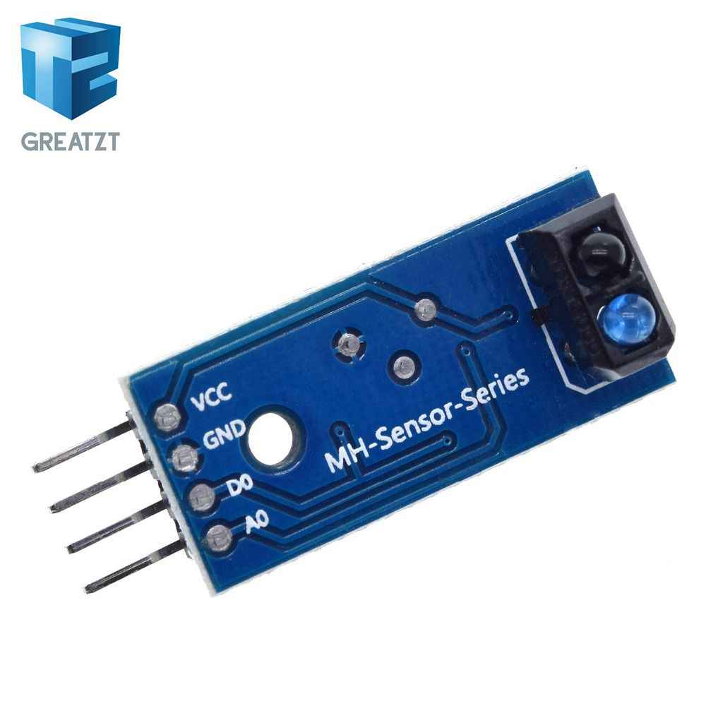 GREATZT 1PCS TCRT5000 Infrared Reflective IR Photoelectric Switch Barrier Line Track Sensor Module blue