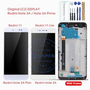 Image 1 - Original pour Xiaomi Redmi Note 5A/Redmi Y1 Lite LCD affichage numériseur écran tactile assemblage écran tactile panneau pièces de rechange