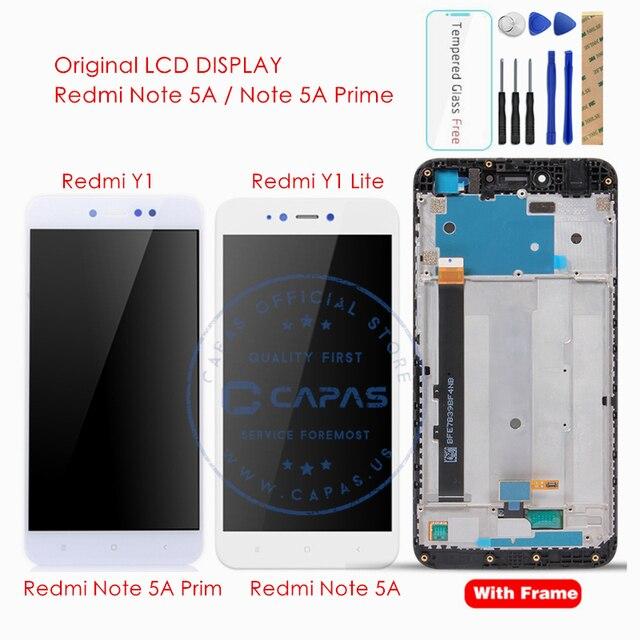 Original pour Xiaomi Redmi Note 5A/Redmi Y1 Lite LCD affichage numériseur écran tactile assemblage écran tactile panneau pièces de rechange