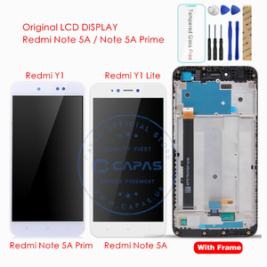 Image 1 - מקורי לxiaomi Redmi הערה 5A/Redmi Y1 לייט LCD תצוגת Digitizer מגע מסך הרכבה מסך מגע פנל החלפת חלקים