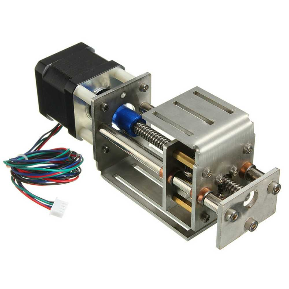 CNC Z Axis Slide Table 50-60mm DIY Milling Linear Motion 3 Axis Engraving Machine