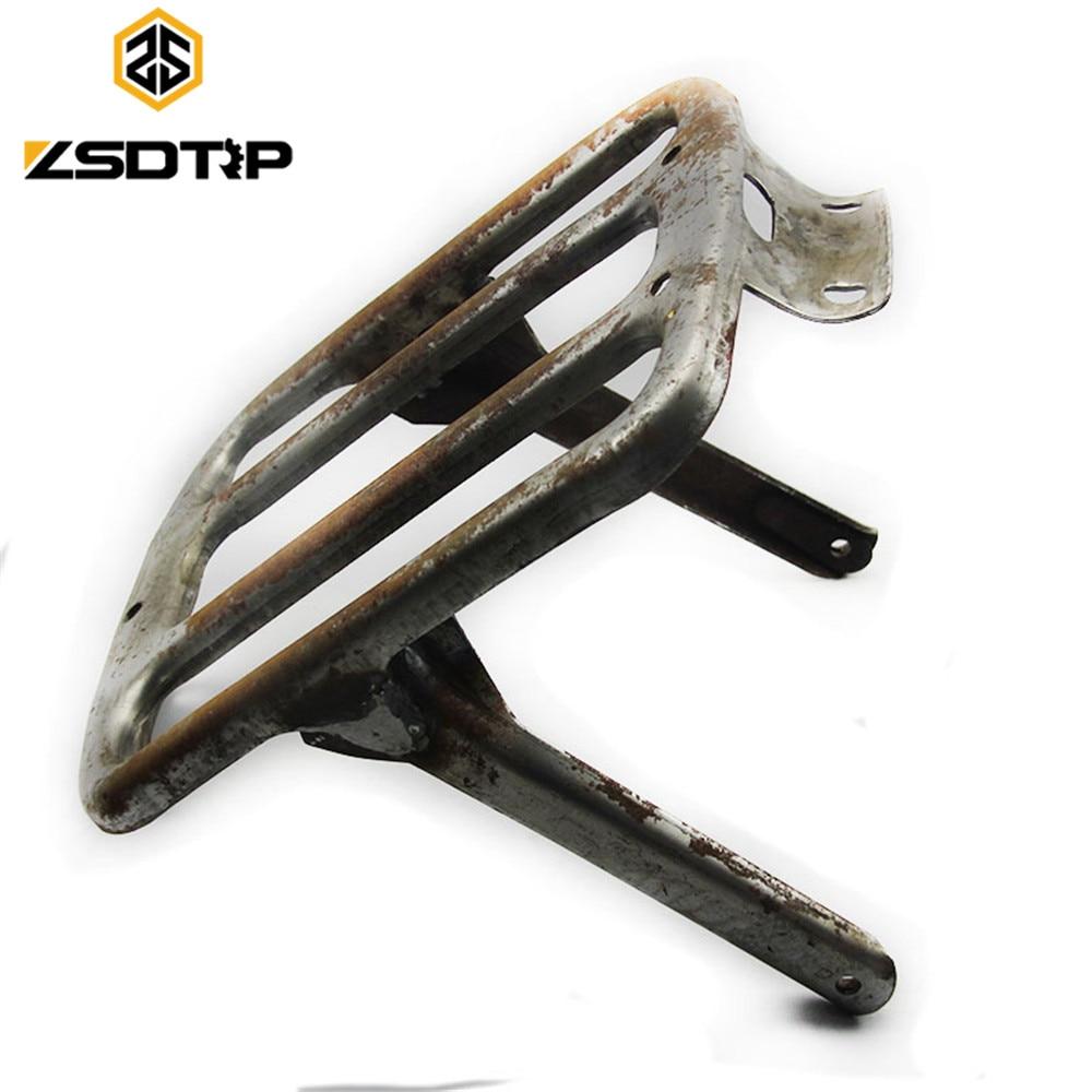 ZSDTRP Retro Model Iron Material Ural CJ-K750 Side Car Motor Rear Seat Cargo Larrier Case For BMW R50 R71 R1 R12  M72