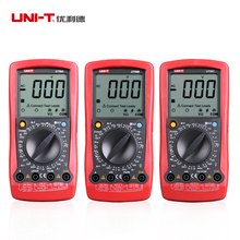 Free Shipping UNI-T UT58B LCD Digital Multimeter AC DC Voltage Current Temp Ohm