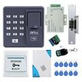 Полный комплект биометрический контроль доступа к отпечаткам пальцев X6 + электрический замок удара + блок питания + кнопка выхода + дверной з...