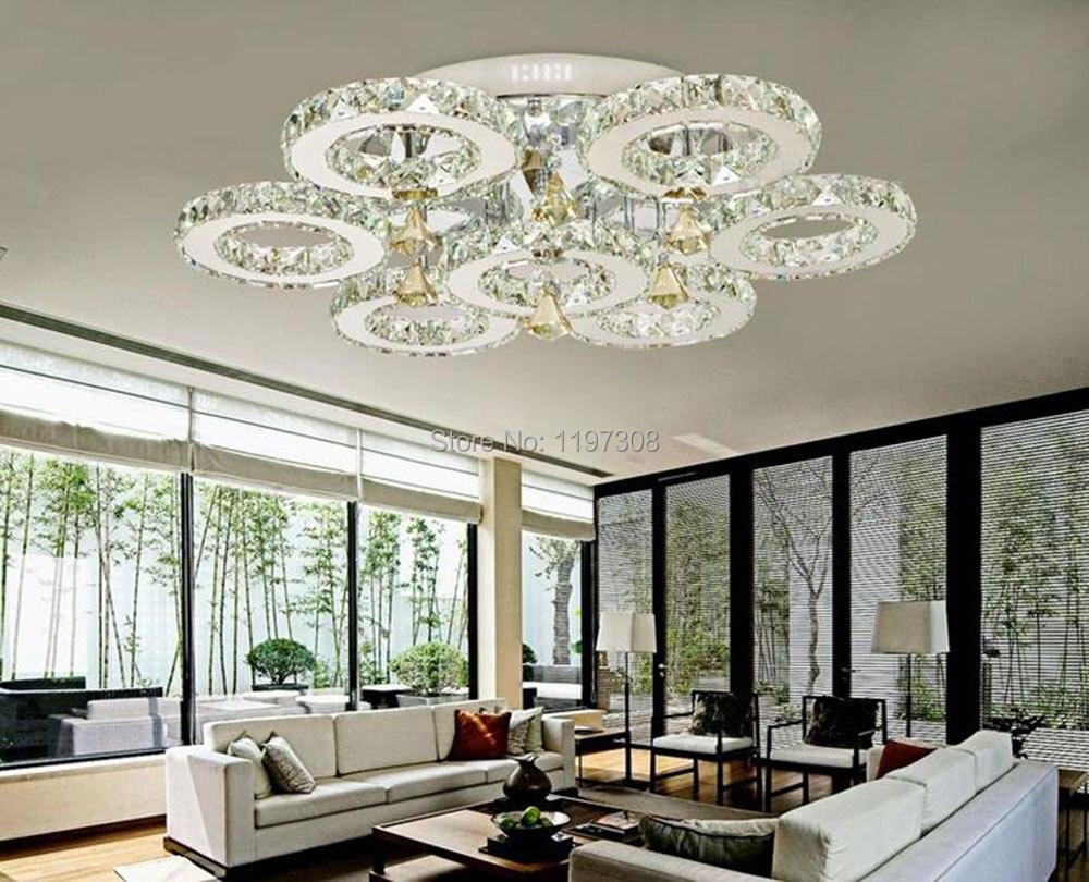 moderno semplice europea lampadario di cristallo corridoio ...