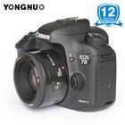Original YONGNUO lens YN50mm F1.8 AF Lens Large Aperture Auto Focus 50mm Camera Lens for Canon EOS 60D 70D 5D2 5D3 600d DSLR