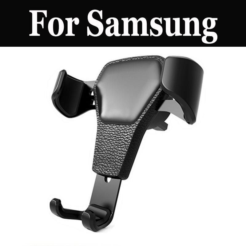 Car Holder Gravity Reaction Mount Phone Stand For Samsung Galaxy J4 A3 A3 A5 A5 A6 A6+ A7 A7 A7 A8 A8 A8+ A9 A9 Pro C5 C5 Pro