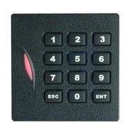 Lector de RFID, rfid teclado EM/ID reader, 125 K, Wiegand26 Lector de formato, lector-impermeable, sn: KR102 min: 50 unids