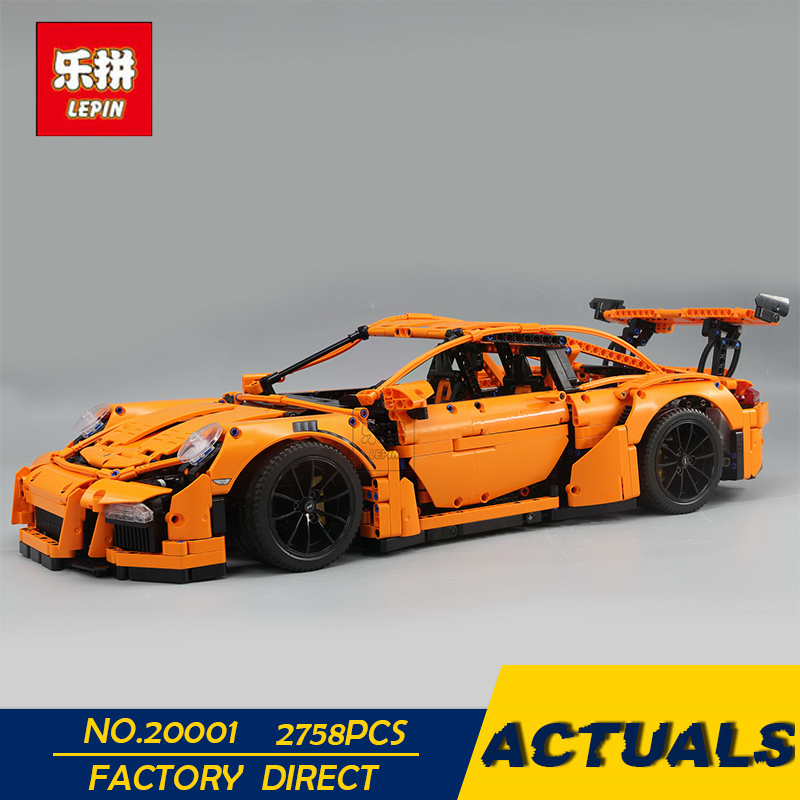 LEPIN 20001 20001B 2704PCS Technic Series DIY Model Building Kits Blocks Bricks Compatible With 42056 Boy's Toy Educational Gift lepin 20001 technic series 911 model building kits blocks bricks boy toys funny educational children gifts compatible with 42056