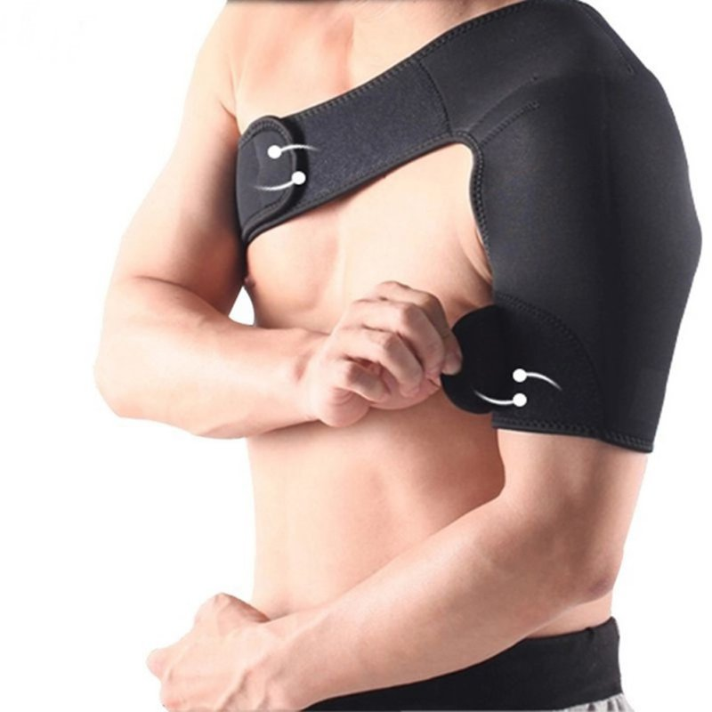 New Adjustable Shoulder Support Brace Strap Compression Bandage Wrap Protection Sports Protection W1