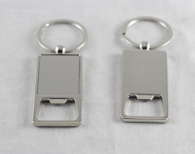 Wholesale 100Pcs Stainless Steel bottle opener Beer opener keychain personalized logo print gifts DHL Free shipping