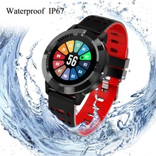 IP67 Sensible Watch Silicon Relogio Tempered Glass Exercise Health Tracker Coronary heart Charge Monitor Sport Smartwatch Males Girls Smartband