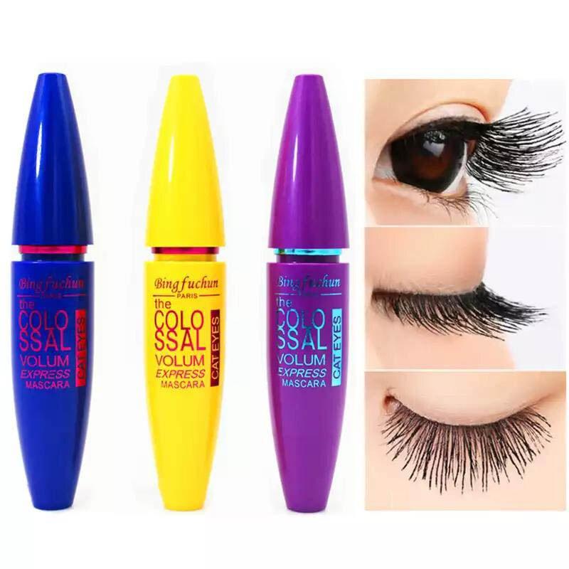 Black Mascara Volume False-Lash Rocket Make-Up-Eyes Express Waterproof Colossal Curling