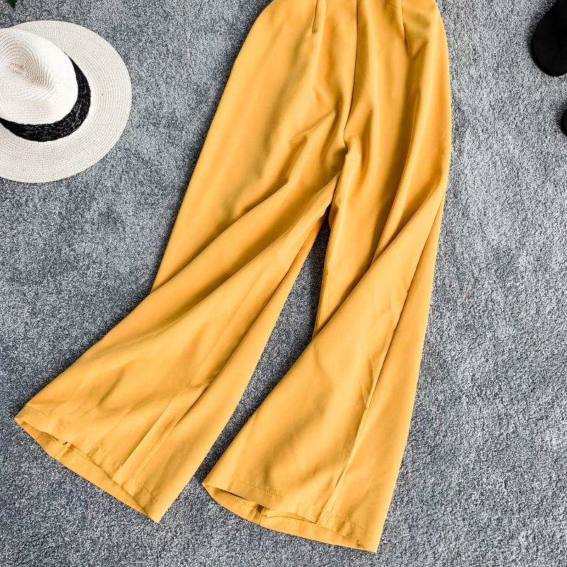 Button Cross Back Elegant Jumpsuit Romper 21
