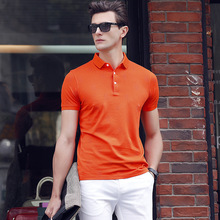 2017 New Arrival Preppy Style Polo Shirt Solid Summer Short Sleeve Homme Fit Turn Down Collar Men Sale Cotton Regular