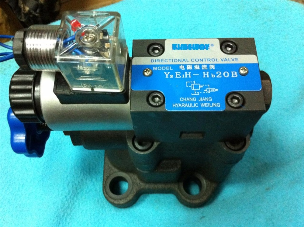 Hydraulic valve Y2EH-HD20 electromagnetic relief valve