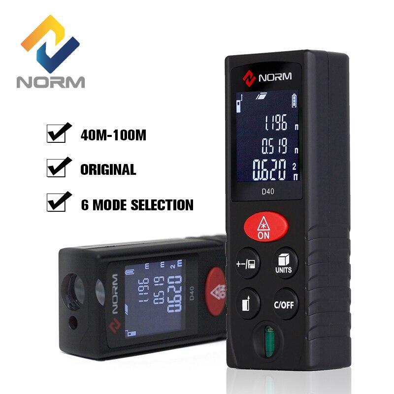 Norm D Series laser distance meter 40M 60M 80M 100M Laser Rangefinder Laser Range Finder Laser Measure