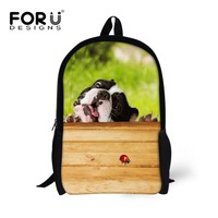 FORUDESIGNS Small Popular Lovely Printing Carton Animal Schoolbag For Boys And Girls Children Primary School Backpack Daily